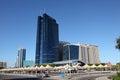 Dusit thani hotel in abu dhabi the city of united arab emirates Stock Photography