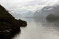 Dusky Sound, Fiordland, New Zealand Stock Photo