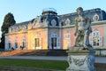 Dusseldorf, North Rhine-Westphalia, Germany - January 22, 2017. Castle Benrath