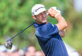 Dustin johnson am us open Lizenzfreie Stockfotos