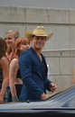 Dustin lynch arriving at the cmt awards in nashville tn Royalty Free Stock Photo