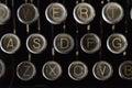 Dusty Old Royal Typewriter Keys