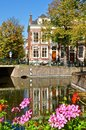 Dutch canal and house