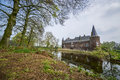 Dutch castle hernen old in the netherlands Stock Image