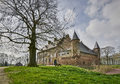 Dutch castle hernen old in the netherlands Royalty Free Stock Photography