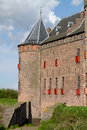 Dutch castle Muiderslot Royalty Free Stock Photo