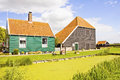 Dutch countryside landscape Royalty Free Stock Photos