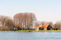 Dutch farmhouse Stock Photography