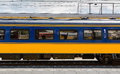 Dutch first class train car Royalty Free Stock Photo