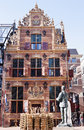 Dutch former Gold Office in Groningen City Royalty Free Stock Photo