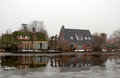 Dutch houses Royalty Free Stock Photos