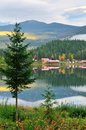 Dutch Lake on an Autumn Morning, Clearwater, BC Royalty Free Stock Photos