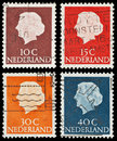 Dutch postage stamps Royalty Free Stock Image