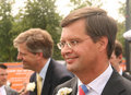 Dutch Prime Minister Balkenende Royalty Free Stock Photo