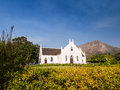 Dutch Reformed Church in Franschhoek Royalty Free Stock Photo