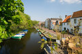 Dutch village Naarden Royalty Free Stock Photos