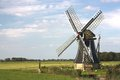 Dutch windmill Royalty Free Stock Photo