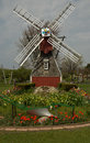 Dutch windmill model of in holland michigan Royalty Free Stock Photography