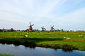 Dutch windmills of netherlands the that it s often the first fact people recall about the country Royalty Free Stock Photos