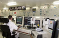 On Duty in Engine Control Room