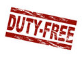Duty-free Royalty Free Stock Photography