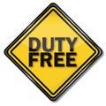 Duty free Royalty Free Stock Photo