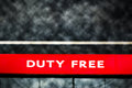 Duty free shop icon Royalty Free Stock Photos