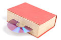 DVD and book Stock Photography