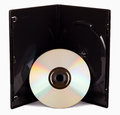 The DVD case  Royalty Free Stock Photography