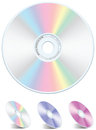 DVD-CD Vector Royalty Free Stock Photos