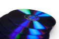 Dvd data storage medium black digital video disc Royalty Free Stock Photo