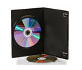 DVD disks Royalty Free Stock Photo