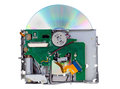 DVD drive Royalty Free Stock Photos