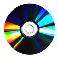 Dvd e compact disc Imagem de Stock Royalty Free
