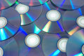Dvdr discs Royalty Free Stock Image