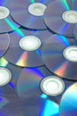 Dvdr discs Royalty Free Stock Photography