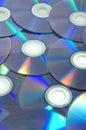 Dvdr discs Royalty Free Stock Photo
