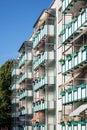 Dwelling in new housing development Royalty Free Stock Photo