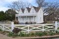 Dwight Eisenhower birthplace Royalty Free Stock Photo