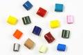 15 Dyed Polymer Resins