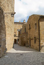 Dying city, Civita Bagnoregio Stock Image