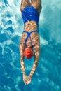 Dykning Royaltyfria Bilder