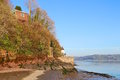Dylan Thomas boathouse and writing shed, Laugharne Royalty Free Stock Photo