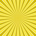 Dynamic abstract sun rays background - comic vector design from radial stripe pattern Royalty Free Stock Photo