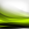 Dynamic green lines abstract background with curve transparent Royalty Free Stock Photo