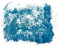 Dynamic splash of paint Royalty Free Stock Photo