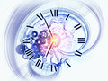Dynamic of time Royalty Free Stock Images