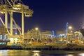 Działalność portu Obrazy Stock