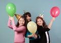 Dzieciaka przyjęcie urodzinowe Obrazy Royalty Free