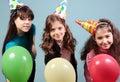 Dzieciaka przyjęcie urodzinowe Zdjęcie Royalty Free